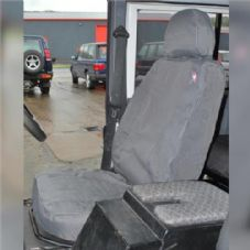 Land Rover Defender TDCI Grey Front Waterproof Seat Cover Set x2 - DA2818GREY
